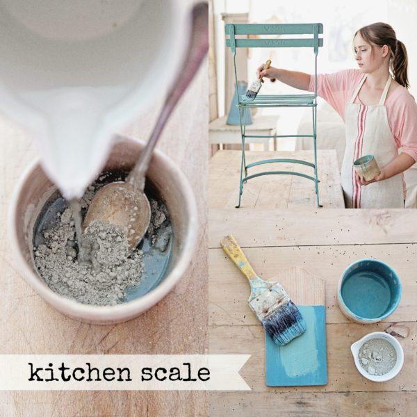 miss-mustard-seed-milk-paint-collage-kitchen-scale